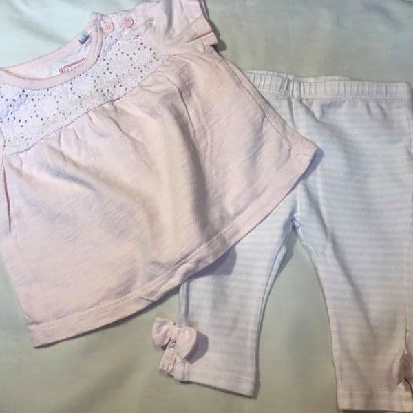0-3 Months Trousers and Top