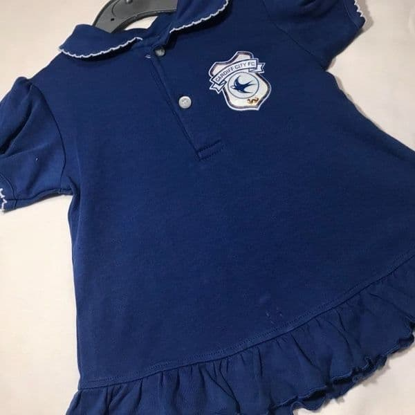 12-18 Month Cardiff City Dress/Top