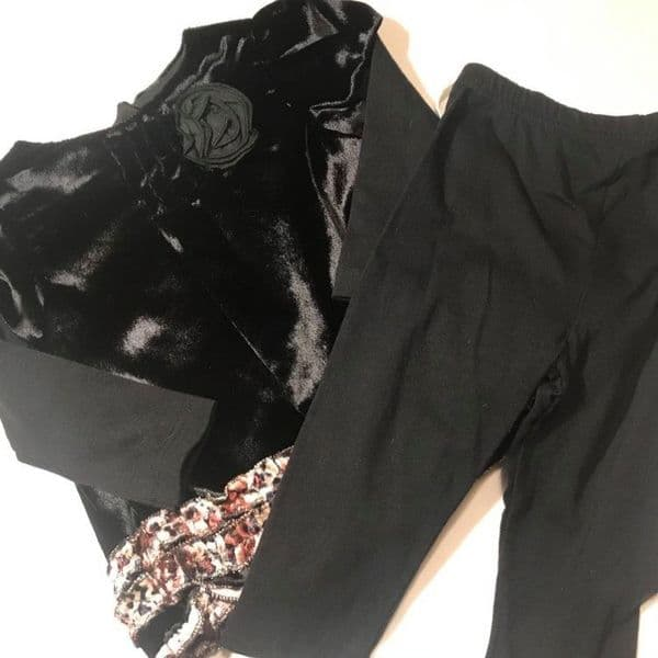 12-24 Month Black 2 Piece Set