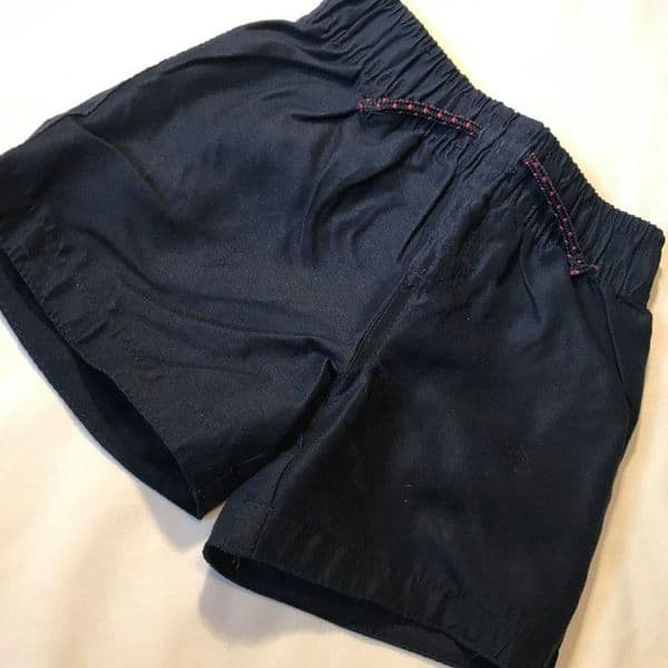 18-24 Month Navy Cotton Shorts