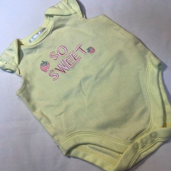 3-6 Month Frill Sleeve Body