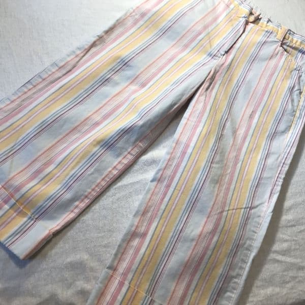 5-6 Years Candy Stripe Turn Up Trousers