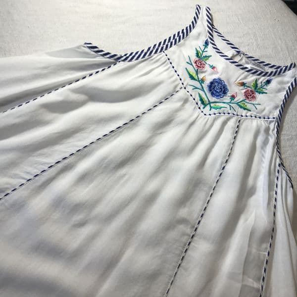 6-7 Years Embroidered Dress