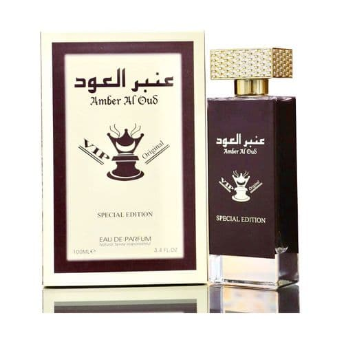 Amber Al Oud VIP Original  Edp 100ml