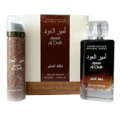 Ameer Al Oudh 100ml edp  with deo🌹