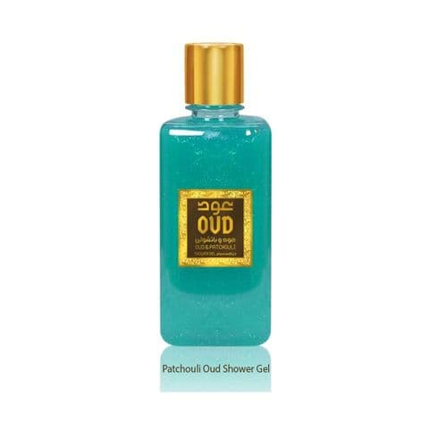 Patchouli Oud Shower Gel 300ml