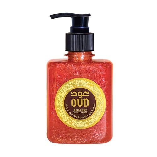 Rose Oud body & hand Liquid Soap 300ml