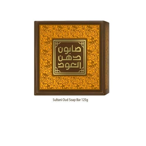 Sultani Oud Soap Bar 125g