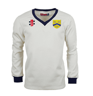 PRO PERFORMANCE SWEATER WITH NAVY TRIM