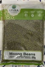 Mung Beans Green Whole 500g - UTHRA