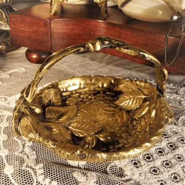 Art Deco Brass Ring, Jewellery, Trinket Tray or Pin Dish