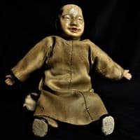 Chinese Male Doll in Traditional Dress