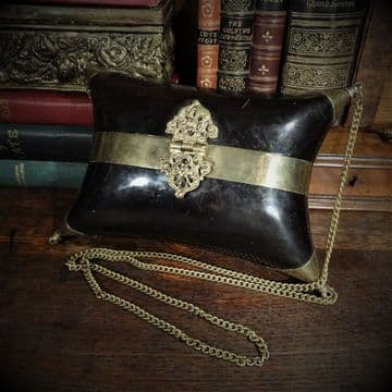 Horn and Brass Handbag