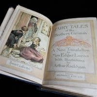 Rare Grimm's Fairy Tales 1911 by Selfridges of London