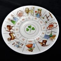 Tasseography Fortune Telling Cup and Saucer with Instructions