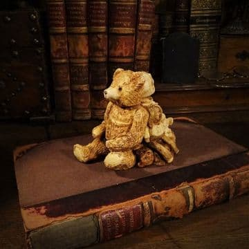 Teddy Bear and Baby Trinket Box
