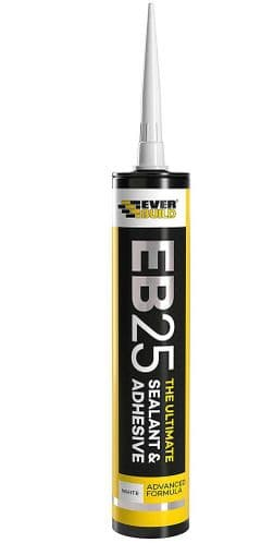 EVERBUILD EB25 The Ultimate SEALANT & Adhesive Hybrid Polymer Indoor (White