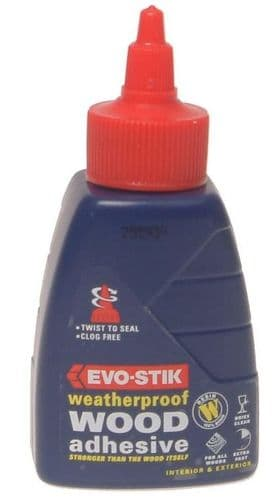 Evo Stik Wood Adhesive Weatherproof - 125ml