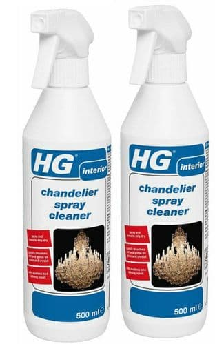 HG Chandelier Spray Cleaner - 500ml pack of two