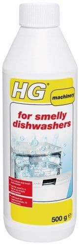 HG For Smelly Dishwashers 500ml approx 12 Treatments