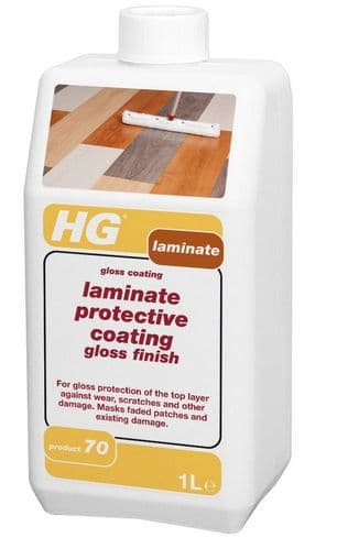 HG Laminate Protective Coating Gloss Finish 1 Litre Product 70