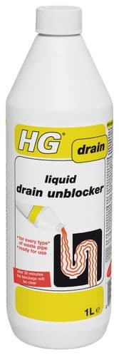 HG Liquid Drain Unblocker 1 litre