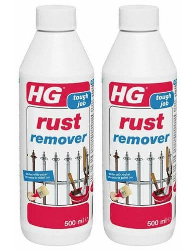 HG Rust Remover 176050106 Pack of 2