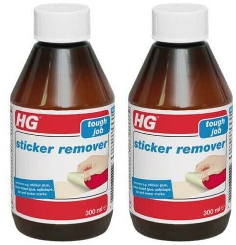 HG Sticker Remover 300ml Pack of 2