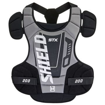 The STX Shield 200™ lacrosse goalie chest protector