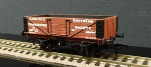 37-073 5 Plank Wagon Wooden Floor 'Carlisle Co-Op' Brown