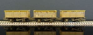 37-275SD Triple Pack 27 Ton ZKV Tipple Wagons BR Engineer 'Dutch' (Weathered)