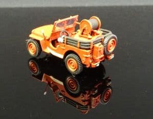 CB-086 JEEP C.C.F.L Tank Jeep for Forest Fire with Guinard pump (6 m³/h),