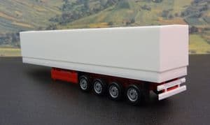 HE075992 canvas cover semitrailer 4 axle