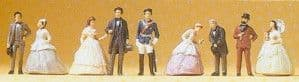 PR12061 Ludwig II Of Bavaria And Guests. Exclusive, 9 Figure Set