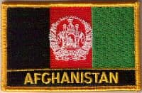 Flag Patch - Afghanistan 09