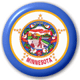 Minnesota State Flag 25mm Pin Button Badge