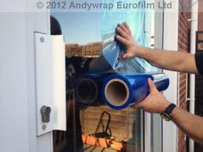 Window Protection Film 500mm x 100mts x 4 rolls