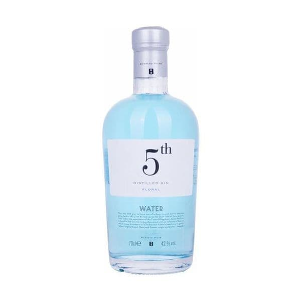 5th Distilled Gin Water 70cl