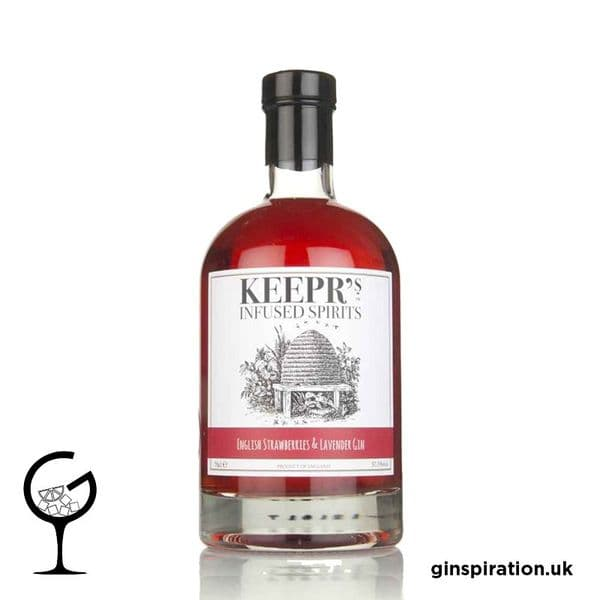 Keeprs English Strawberry & Lavender Gin 70cl