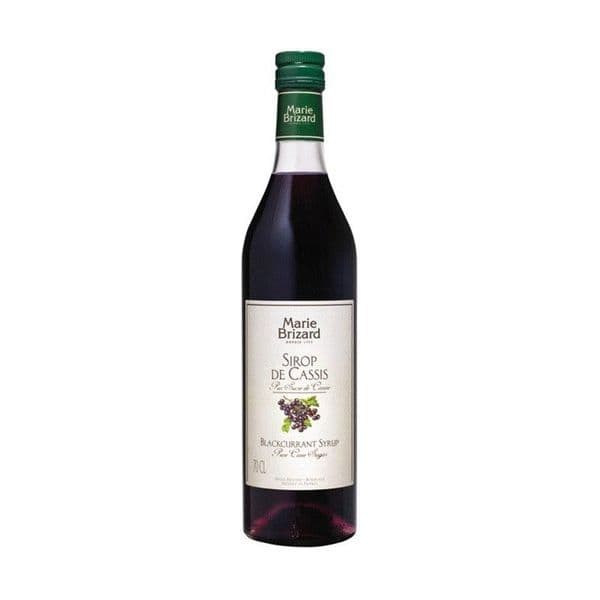 Marie Brizard Blackcurrant Syrup 70cl | Ginspiration.uk
