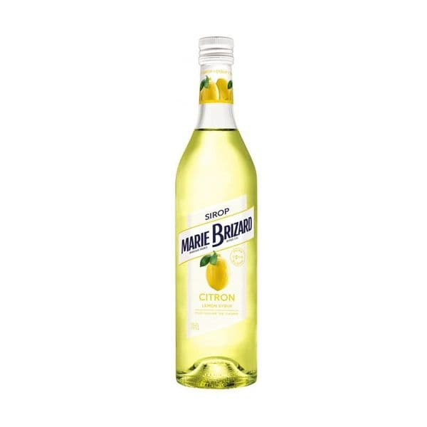 Marie Brizard Citron Syrup 70cl | Ginspiration.uk