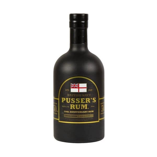 Pussers 50th Anniversary Rum 70cl