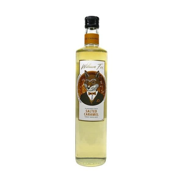 William Fox Salted Caramel Syrup 70cl