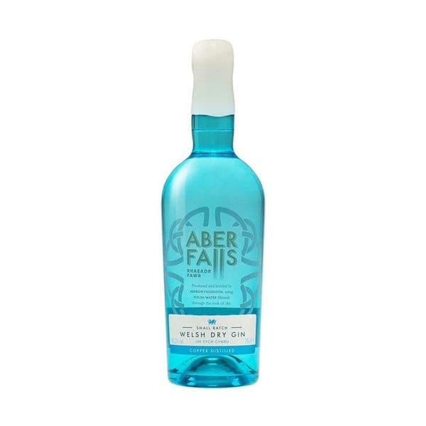 Aber Falls Welsh Dry Gin 70cl | Buy Online Now!