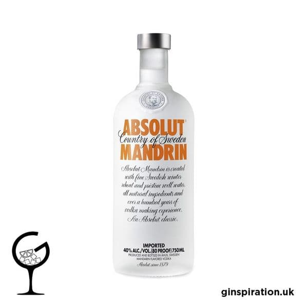 Absolut Mandarin Vodka 70cl