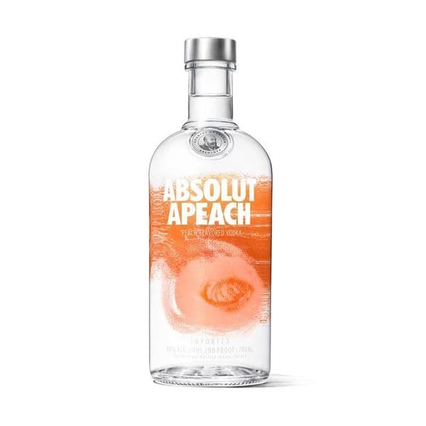 Absolut peach Vodka 70cl