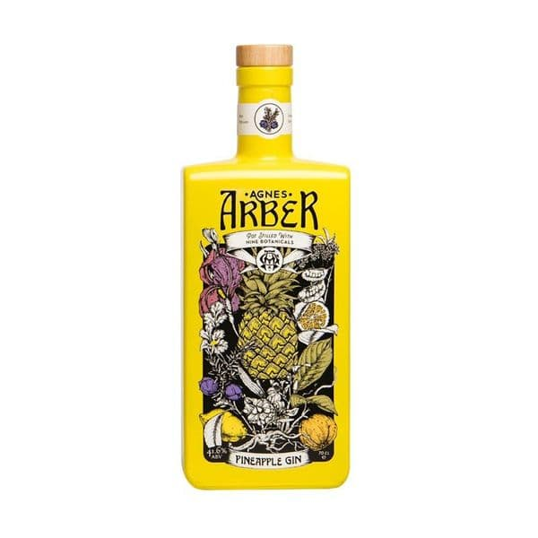 Agnes Arber Pineapple Gin 70cl | Ginspiration.uk