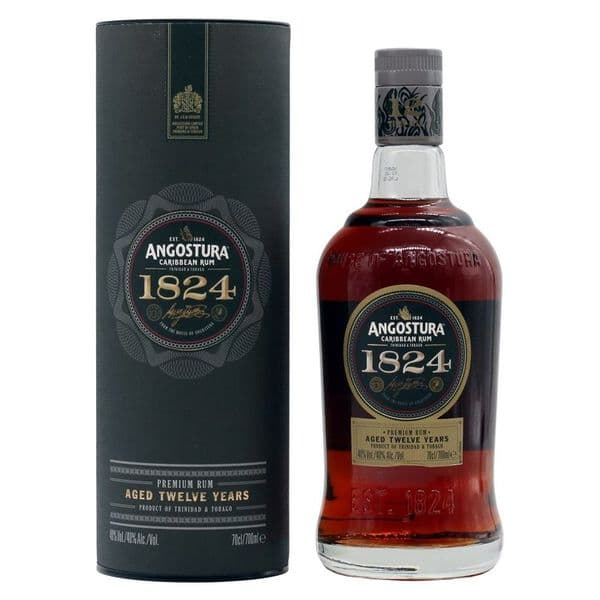 Angostura Caribbean Rum Aged 12 Years 1824 70cl