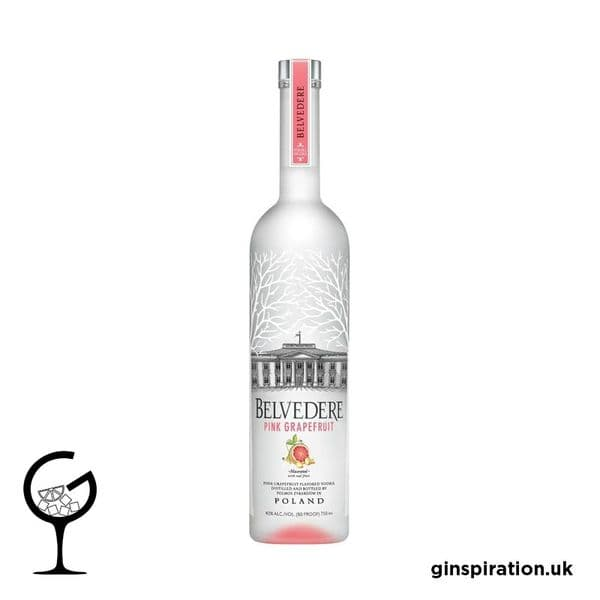 Belvedere Pink Grapefruit Vodka 70cl