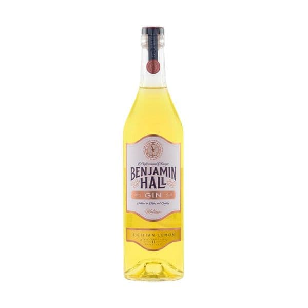 Benjamin Hall Sicilian Lemon Gin 70cl